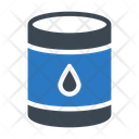 Oil Drum Barrel Icon
