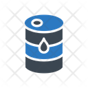 Drum Barrel Oil Icon
