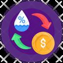 Crude Exchange Oil Exchange Petrol Exchange Icon
