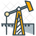 Oil Extraction Crane Icon