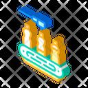 Spill Conveyor Isometric Icon