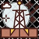 Oil Industry Oil Refinery Oil Icon