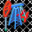 Oil Industry Oil Refinery Oil Pump Icon