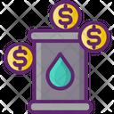 Oil Investing Icon