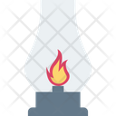 Experiment Fire Flask Lab Research Icon