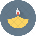 Oil Lamp Fire Icon