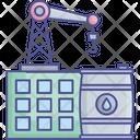 Oil Lifter Crane Icon