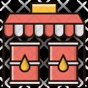 Oil Market Barrel Icon