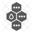 Oil Molecule Chemical Icon