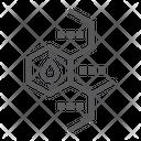 Oil molecule Icon