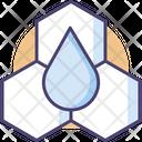 Oil Molecule Water Molecule Molecule Icon