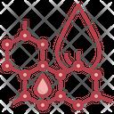 Oil Molecule Science Molecules Icon