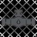 Oil Valve Faucet Icon