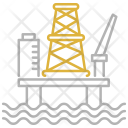 Oil Platform Industry Icon