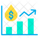 Oil Price Analytics Oil Price Report Icon