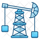 Oil Pump Factory Icon