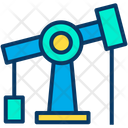 Pumpjack Refinery Well Icon
