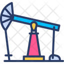 Oil Production Pump Icon