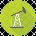 Oil Pumpjack Refinery Icon