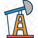 Oil Pumpjack Icon