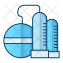 Oil Refinery Factory Icon