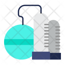 Refinery Oil Plant Icon