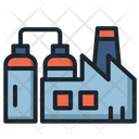 Oil Industry Refinery Oil Icon