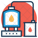 Oil Industry Rig Icon