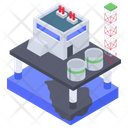 Oil Refinery Plant Oil Processing Chemical Plant Icon