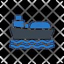Ship Refinery Oil Icon