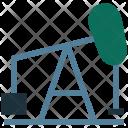Oil Rig Drill Icon