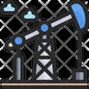 Oil Rig Oil Refinery Oil Factory Icon