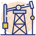 Oil Rig Oil Pump Oil Industry Icon