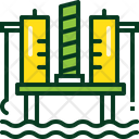 Building Energy Fuel Icon