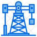 Oil Rig Energy Power Icon