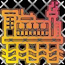 Oil Rig Sea Energy Icon