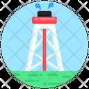 Oil Drill Oil Industry Oil Rig Icon