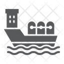 Oil ship Icon