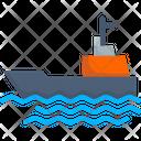 Ship Cargo Oil Icon