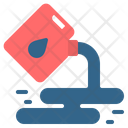 Oil Spill Jerrycan Icon