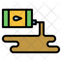Oil Spill Chemical Contamination Icon