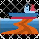 Oil Spill Oil Sea Icon