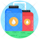 Oil Containers Oil Storage Fuel Storage Icon