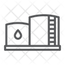 Oil Storage Tank Oil Storage Icon