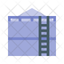 Oil Storage Tank Icon