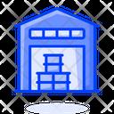 Oil Store House Icon