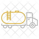 Oil Tank Transportation Icon