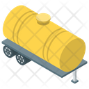 Tanker Fuel Barge Oil Tanker Icon