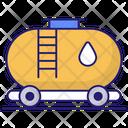 Oil Tank Fuel Gas Icon