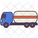 Oil Truck Lorry Icon